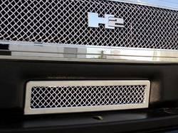 Bumper Accessories - Bumper Valance Grille Insert - T-Rex Truck Products - T-Rex Truck Products 85290 Hybrid Series Mesh Bumper Grille Insert