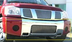 Bumper Accessories - Bumper Valance Grille Insert - T-Rex Truck Products - T-Rex Truck Products 35780 Billet Bumper Grille Bolt-On Insert