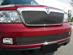 Bumper Accessories - Bumper Valance Grille Insert - T-Rex Truck Products - T-Rex Truck Products 35698 Billet Bumper Grille Bolt-On Insert