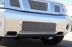 Bumper Accessories - Bumper Valance Grille Insert - T-Rex Truck Products - T-Rex Truck Products 85780 Hybrid Series Mesh Bumper Grille Bolt-On Insert