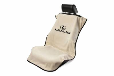 Seat Armour - Seat Armour - Seat Armour Lexus Tan Towel Seat Cover