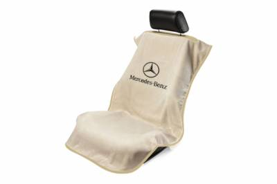 Seat Armour - Seat Armour - Seat Armour Mercedes Benz Tan Towel Seat Cover