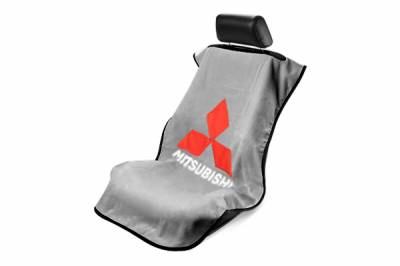Seat Armour - Seat Armour - Seat Armour Mitsubishi Grey Towel Seat Cover