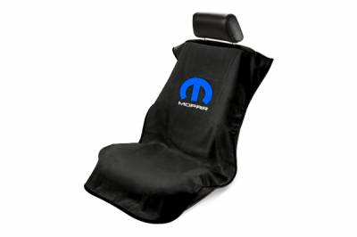 Seat Armour - Seat Armour - Seat Armour Mopar Black Towel Seat Cover