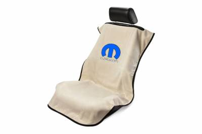 Seat Armour - Seat Armour - Seat Armour Mopar Tan Towel Seat Cover
