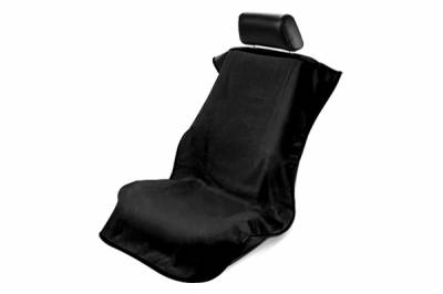 Seat Armour - Seat Armour - Seat Armour No Logo Black Towel Seat Cover