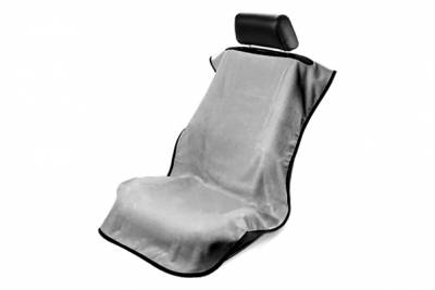 Seat Armour - Seat Armour - Seat Armour No Logo Grey Towel Seat Cover