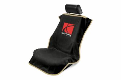 Seat Armour - Seat Armour - Seat Armour Saturn Black Towel Seat Cover