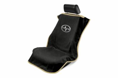 Seat Armour - Seat Armour - Seat Armour Scion Black Towel Seat Cover