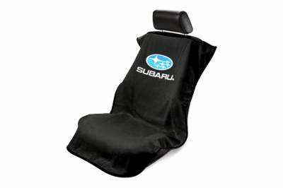 Seat Armour - Seat Armour - Seat Armour Subaru Black Towel Seat Cover