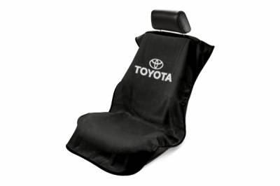Seat Armour - Seat Armour - Seat Armour Toyota Black Towel Seat Cover