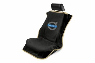 Seat Armour - Seat Armour - Seat Armour Volvo Black Towel Seat Cover