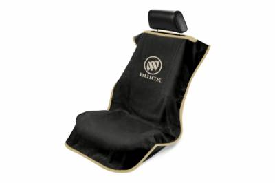 Seat Armour - Seat Armour - Seat Armour Buick Black Towel Seat Cover