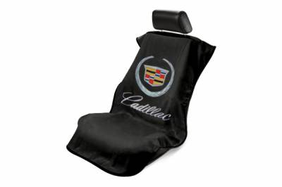 Seat Armour - Seat Armour - Seat Armour Cadillac Black Towel Seat Cover