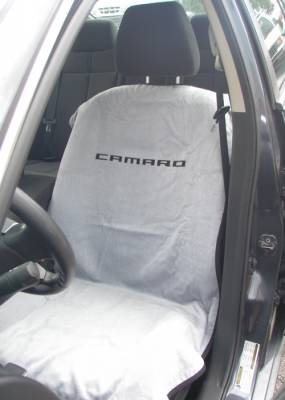 Seat Armour - Seat Armour Camaro Grey Towel Seat Cover