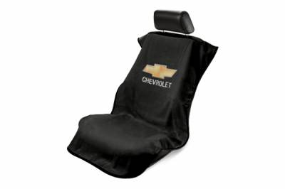 Seat Armour - Seat Armour Chevrolet Black Towel Seat Cover