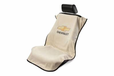 Seat Armour - Seat Armour - Seat Armour Chevrolet Tan Towel Seat Cover
