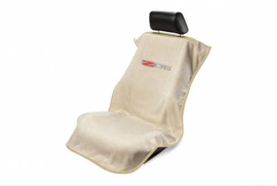 Seat Armour - Seat Armour Corvette C6 Z06 Tan Towel Seat Cover