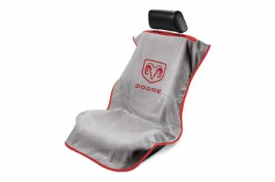 Seat Armour - Seat Armour - Seat Armour Dodge Grey Towel Seat Cover