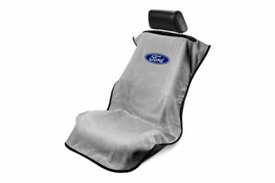 Seat Armour - Seat Armour - Seat Armour Ford Grey Towel Seat Cover