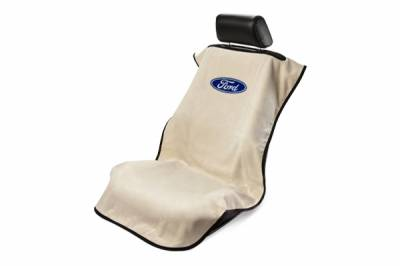 Seat Armour - Seat Armour - Seat Armour Ford Tan Towel Seat Cover
