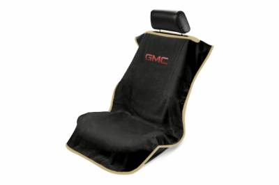 Seat Armour - Seat Armour - Seat Armour GMC Black Towel Seat Cover