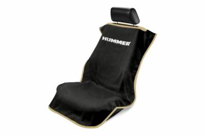 Seat Armour - Seat Armour - Seat Armour Hummer Black Towel Seat Cover