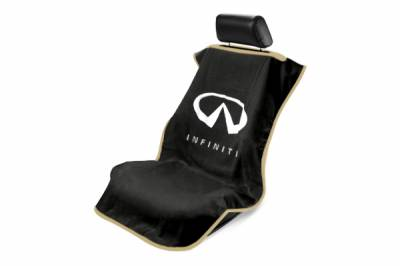 Seat Armour - Seat Armour - Seat Armour Infiniti Black Towel Seat Cover