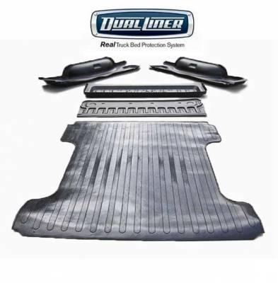 """DualLiner Truck Bed Liners - DualLiner - DualLiner Truck Bed Liner Dodge Ram 02-07 1500 6'3"""" Bed (Bolt In Tiedowns)"""