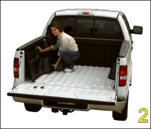 "DualLiner - DualLiner Truck Bed Liner Dodge Ram 02-07 1500 6'3"" Bed (Bolt In Tiedowns) - Image 4"
