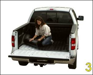 "DualLiner - DualLiner Truck Bed Liner Dodge Ram 02-07 1500 6'3"" Bed (Bolt In Tiedowns) - Image 5"