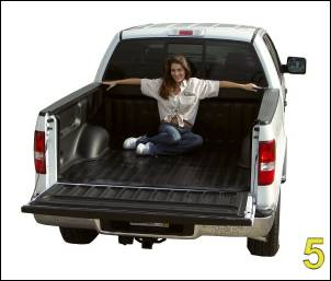 "DualLiner - DualLiner Truck Bed Liner Dodge Ram 02-07 1500 6'3"" Bed (Bolt In Tiedowns) - Image 7"