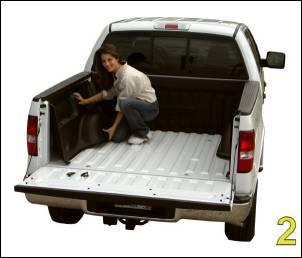 "DualLiner - DualLiner Truck Bed Liner Dodge Ram 03-07 2500/3500 6'3"" Bed (Bolt In Tiedowns) - Image 4"