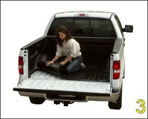 """DualLiner Truck Bed Liners - DualLiner - DualLiner Truck Bed Liner Dodge Ram 07-09 1500 6'3"""" Bed (Weld In Tiedowns)"""