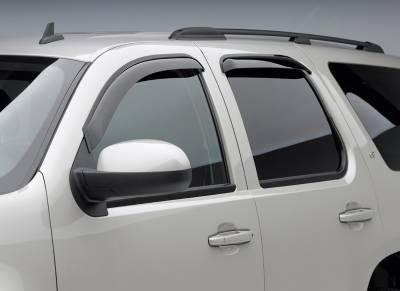 EGR - EgR Smoke Tape On Window Vent Visors Dodge Dakota 05-10 Extended Cab (4-pc Set) - Image 3