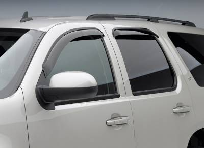 EGR Tape On Window Vent Visors - Ford Applications (EGR Tape On) - EGR - EgR Smoke Tape On Window Vent Visors Ford Expedition EL 97-10 (4-pc Set)