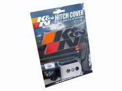 Trailer Hitch Accessories - Trailer Hitch Receiver Cover - K&N Filters - K&N Filters 87-4011 Hitch Cover